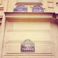 Photo taken at 57 Rue Turbigo by Jean-Emmanuel S. on 11/5/2013
