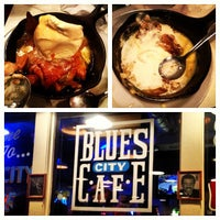 Photo taken at Blues City Cafe by Darius B. on 4/29/2013