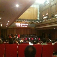 Photo taken at He Luting Concert Hall by Mengdi Z. on 6/23/2013