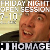 Photo taken at Homage Indoor TF by HOMAGE B. on 3/14/2014