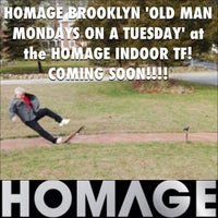 Photo taken at Homage Indoor TF by HOMAGE B. on 10/28/2013