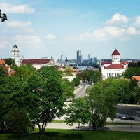 Photo taken at Vilnius by Oleg P. on 5/18/2013