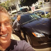 Photo taken at Maserati Auto Gallery Woodland Hills by Fireball Tim L. on 5/28/2015