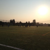 Photo taken at Newton Athletic Park by Dave T. on 9/24/2012