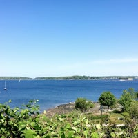 Photo taken at Fort Allen Park by Sarah S. on 5/31/2016