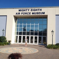 Photo taken at Mighty 8th Airforce Museum by Patrick F. on 10/11/2013