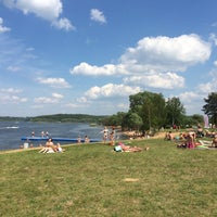 Photo taken at ICE beach by Natalya G. on 6/14/2015