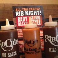 Photo taken at RibCrib BBQ & Grill by Lon B. on 7/20/2014
