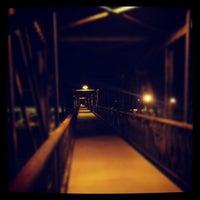 Photo taken at Foot Bridge by Meghan S. on 9/17/2012
