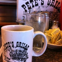 Photo taken at Pete's Grille by Carlos Y. on 1/7/2013