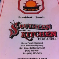 Menu - Southern Kitchen Coffee Shop - South San Jose - 3378 ...
