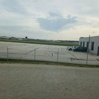 Photo taken at Waukesha County Airport (UES) by Marco E. on 4/15/2017
