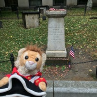 Photo taken at Paul Revere's Tomb by Jared M. on 7/5/2016