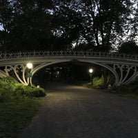 Photo taken at Central Park - Gothic Bridge by Jared M. on 6/30/2016