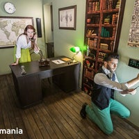 Foto scattata a Questomania Escape Rooms da Ленка И. il 8/7/2015