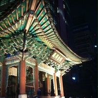 Photo taken at 고종 즉위 40년 칭경기념비 by hyunju l. on 9/27/2013