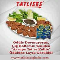 Photo taken at Tatlıses Çiğ Köfte by Yasin Y. on 9/11/2016