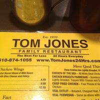 Photo taken at Tom Jones Family Restaurant by AARON R. on 1/1/2013