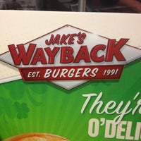 Photo taken at Jake's Wayback Burgers by AARON R. on 3/8/2013