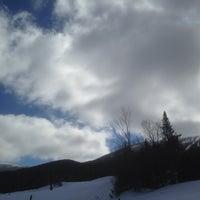 Photo taken at Saddleback Mountain by Greg S. on 4/6/2014