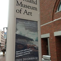 Photo taken at Portland Museum of Art by Greg S. on 12/30/2012