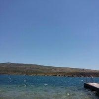 Photo taken at Havuzlu Plaj by Dilşah Y. on 7/7/2016
