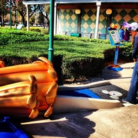 Photo taken at Fantasia Gardens Miniature Golf by Henrique D. on 1/31/2013