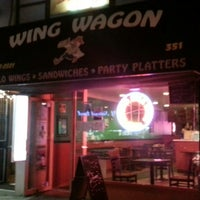 Photo taken at Wing Wagon by Sheldon S. on 8/12/2013