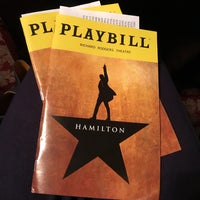 Photo taken at Hamilton: An American Musical by Heather A. on 5/10/2018