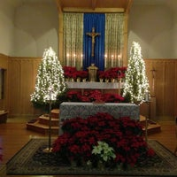 Photo taken at Most Precious Blood R.C. Church by Nick P. on 12/25/2012