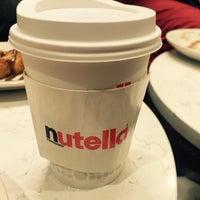 Photo taken at Nutella Cafe by Derya A. on 11/13/2017