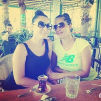 Photo taken at Gül Kafe Çay Bahçesi by Cagla E. on 8/8/2015