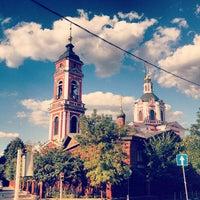 Photo taken at Храм Вознесения За Серпуховскими Воротами by Тимур Е. on 8/18/2013