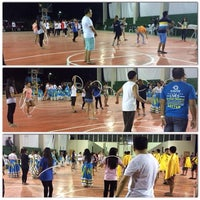 Photo taken at Tinago Sports Complex by Keevin Jay S. on 1/11/2014