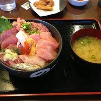 Photo taken at のっけ家 焼津さかなセンター店 by Yu N. on 1/12/2013