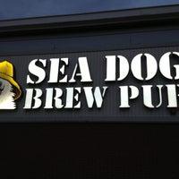 Photo taken at Sea Dog Brew Pub by James-Michael G. on 4/16/2013