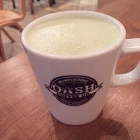 Photo taken at Dash Coffee Co. by Wing T. on 12/9/2013
