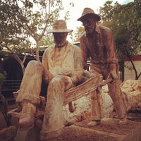 Photo taken at Visitor Centre Halls Creek by Miguel C. on 11/26/2012