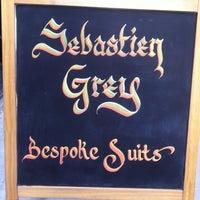Photo taken at Sebastien Grey Clothiers by Sonny B. on 2/22/2013