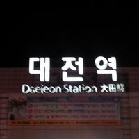 Photo taken at Daejeon Stn. - KTX/Korail/SRT by Ahmad N. on 12/24/2012