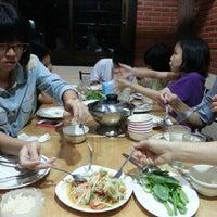 Photo taken at ร้านอาหารตาชั่งอีสาน-ใต้(สนามบิน) by นิเวศน์ ห. on 10/13/2013