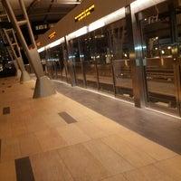 Photo taken at ARIA Express Bellagio Station by Sam (@HandstandSam) E. on 12/24/2012