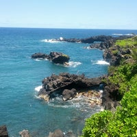 Photo taken at Waianapanapa State Park by Sam (@HandstandSam) E. on 5/3/2013