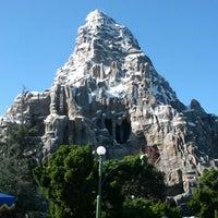 Photo taken at Matterhorn Bobsleds by Sam (@HandstandSam) E. on 2/4/2013