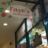 Photo taken at Faye's Florist & Gifts by Benjamin O. on 4/4/2016