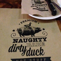 Photo taken at Naughty Babe Dirty Duck by Benjamin O. on 5/11/2014