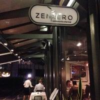 Photo taken at Zenzero Restaurant & Wine Bar by Benjamin O. on 4/5/2014