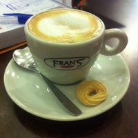 Photo taken at Fran's Café by Marcela F. on 1/25/2013