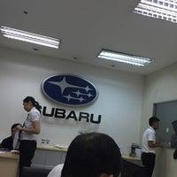Photo taken at Subaru Greenhills | Motor Image Pilipinas Inc. by Rosan C. on 6/7/2016