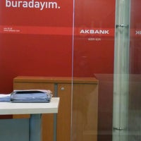 Photo taken at Akbank Halkali Sube by Ahmet A. on 1/23/2017
